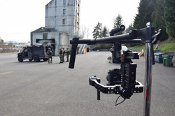 Filming Bellevue S.W.A.T. with Ronin