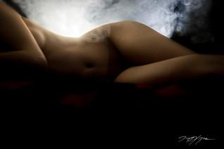 Nude Beauty Vape Photography