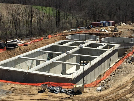 Precast Solutions features Mack Industries & Wastewater Treatment Plant Design & Production Project
