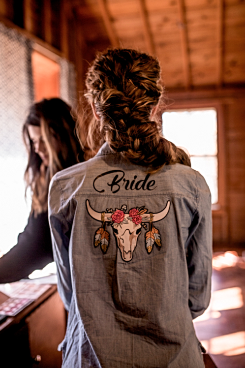 Custom Bride Shirt