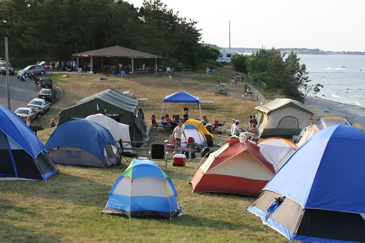 $16 per night, per tent