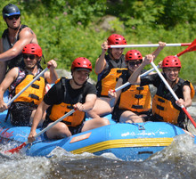 2019 White Water Rafting Trip