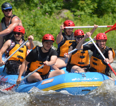2019 White Water Rafting Trip