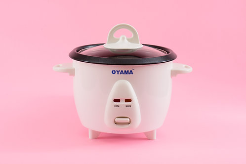 Conventional rice cooker - 3 cups (uncooked rice)