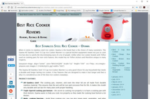 No Surprise! OYAMA top review by third party as BEST STAINLESS STEEL RICE COOKER