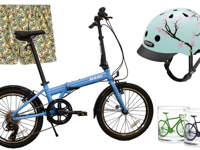 Featuring our Sky Blue VIA at Parade.com's National Cycling Day pick!
