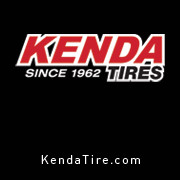 All our bikes feature KENDA tires!