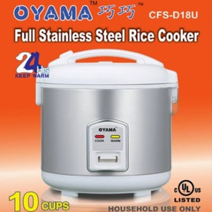 "Voted to be number ""ONE"" in Stainless Rice cooker Calgary"