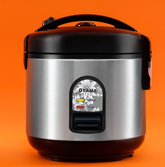 All stainless steel rice cooker - 5 cups (uncooked rice)