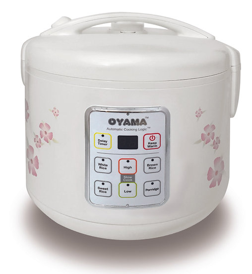 MICRO ACL rice cooker with non-stick inner pan - 10 cups (uncooked rice)