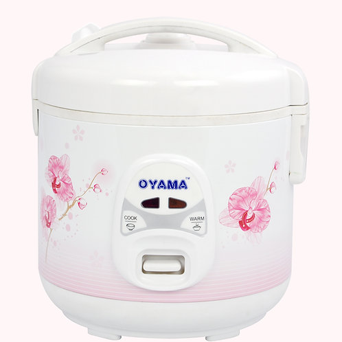 Premium rice cooker with non-stick inner pan - 4 cups (uncooked rice)