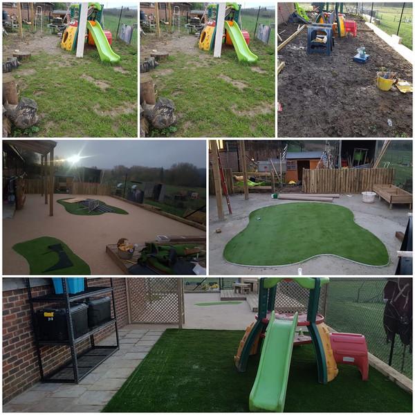 Preschool Garden Transformation