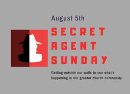 Secret Agent Sunday