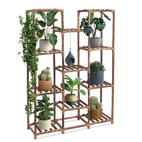 Aerb wood plant stand