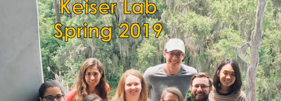 Keiser Lab Spring 2019