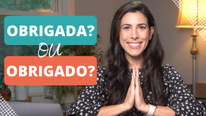 How to say 'thank you' in Portuguese.