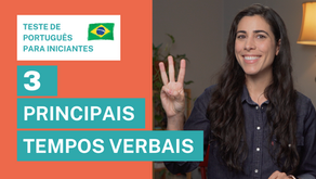 3 Most Used Verb Tenses [Portuguese Test]