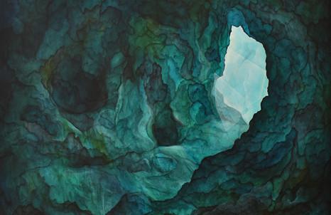 Thomas Scalco, Hercafalìa, 2020, tecnica mista, cm 110x125