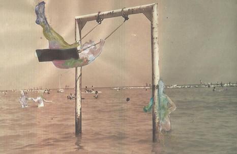 Patrizia Emma Scialpi, LOVE AND LOSS 3, 2013, acrilici su stampa, cm 20x30