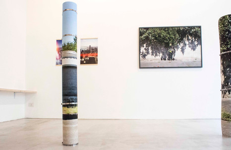 Patrizia Emma Scialpi, Ora serrata, Installation view, 2015