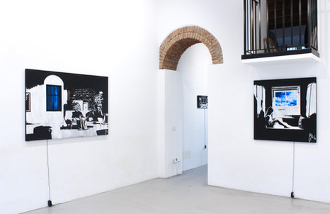 Alessandro Di Vicino Guadio, 2020 installation view