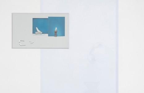 Stefano Spera, GAP, Constantin, 2018, olio su tavola e stampa su pellicola adesiva, cm 80x50