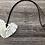 Thumbnail: White Triangle Fringe Pendant