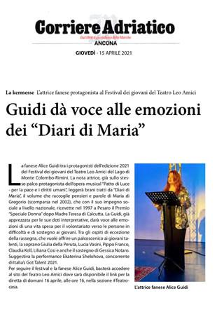 21.04.15 - Corriere Adriantico Ancona