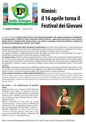 21.04.14.0 - Emilia Romagna news24