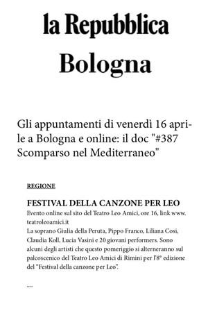 21.04.15 - La Repubblica Bologna