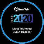 2020 Award Badge-EMEA_Most Improved Rese