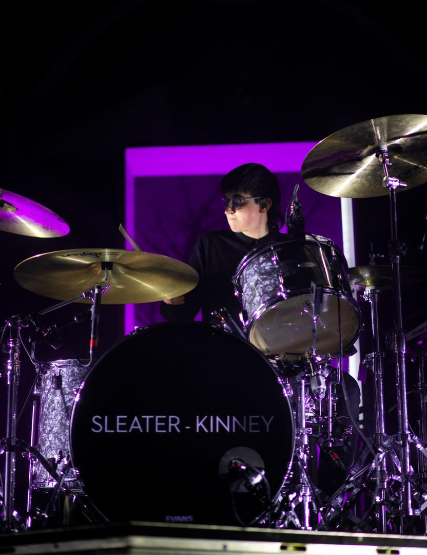 Sleater-Kinney Drummer