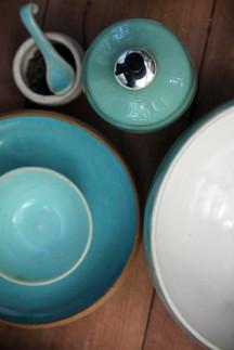 saphire glaze tableware