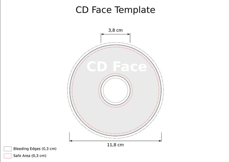 CD & DVD Print and design