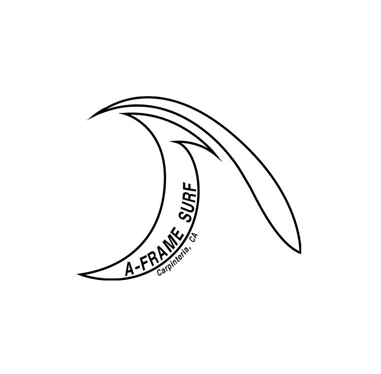 A-Frame Surf Logo