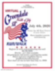 Virtual 2020 Greendale 4th of July 5K Fl