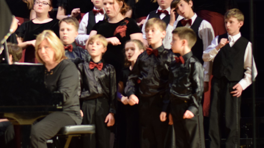 Spring 2019 Kinderchor and Descants