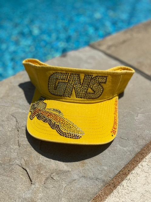 GNS Bling Visor Yellow
