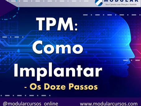 Como Implantar o TPM? Os doze passos.