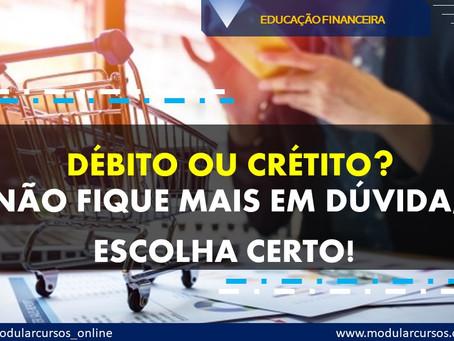 Saiba tudo sobre: Cartão de Crédito e Débito