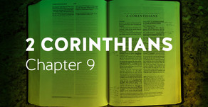 2 Corinthians   Ch. 9