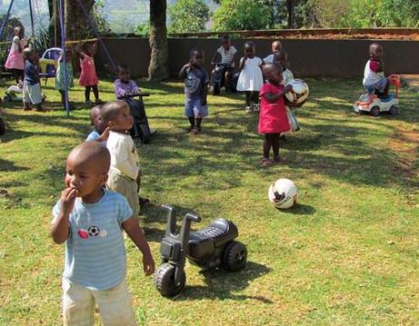 Bulembu Children Playing