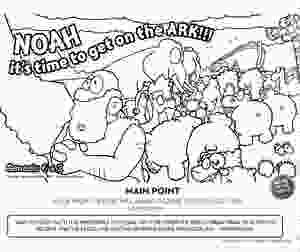 Noah's Ark Color Page