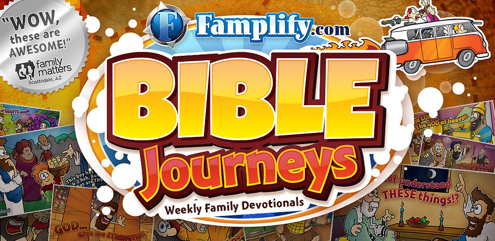Famplify Bible Journey Graphic