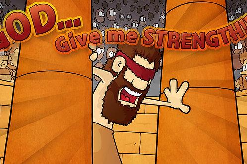 Judg. 16 - Samson's Strength