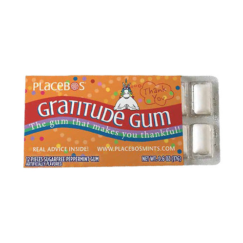 Gratitude Gum: The Gum That Makes You Thankful - 3 pack