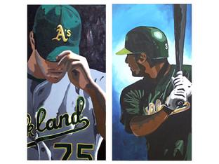 Sports art (acrylic)