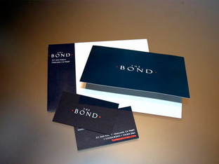 The Bond - stationery