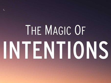 The Magic of Intentions