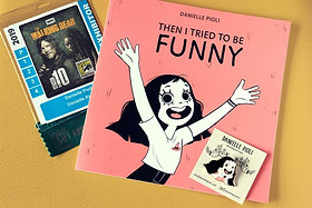 Bundle Livro + Pin - Then I Tried to be Funny